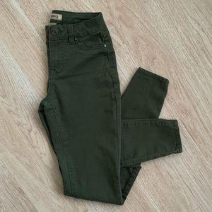Blue Spice Skinny Pants